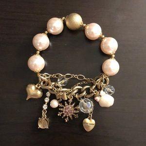 Winter charm bracelet